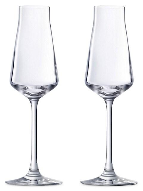 Château Baccarat Champagne Flute Set