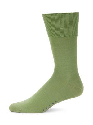 Airport Wool-Cotton Blend Socks
