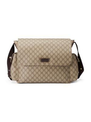 6040f43a4e6 Gucci - GG Supreme Diaper Bag - saks.com