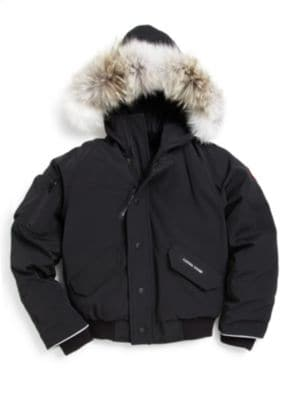 0c5dac19f Canada Goose - Toddler's & Little Boy's Grizzly Fur Trim Down ...