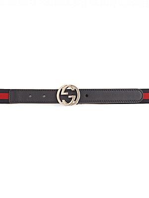 de4db1effed Gucci - Kid s Interlocking G Belt - saks.com