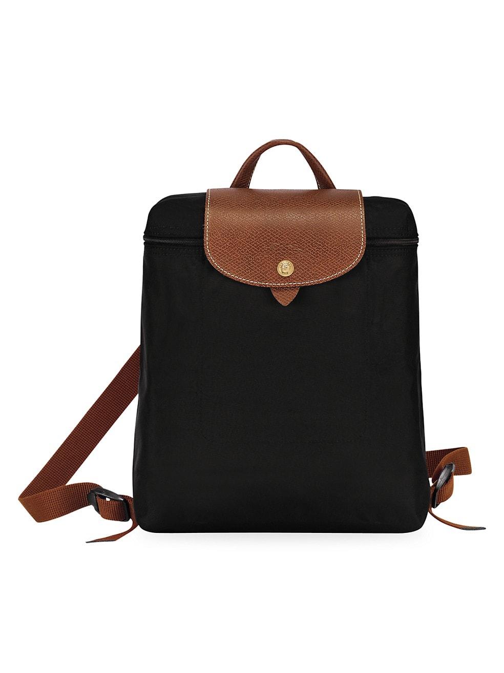 롱샴 백팩 Longchamp Le Pliage Backpack,BLACK