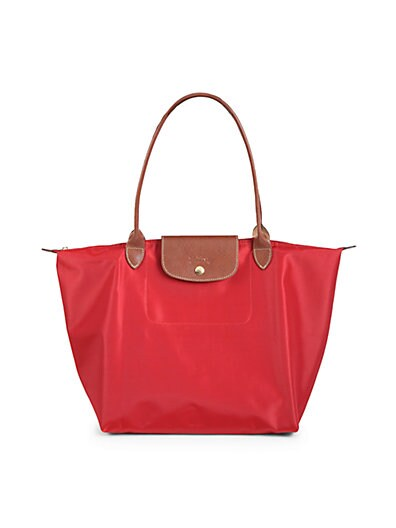 Le Pliage Neo Medium Nylon Tote - 100% Exclusive in Red
