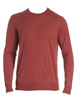 6a5f1c97ba9f Wool/Cashmere Crewneck Sweater OATMEAL. QUICK VIEW. Product image. QUICK  VIEW