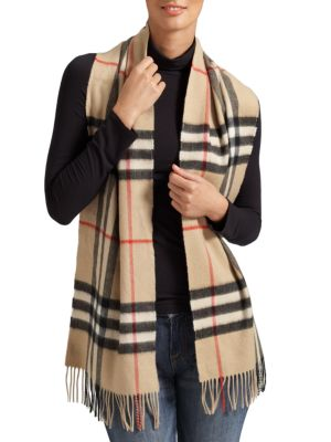 coupon codes official photos hot sales Classic Giant Check Cashmere Scarf