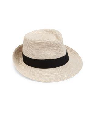 Classic Fedora Hat by Eric Javits