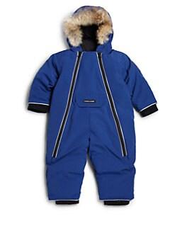 Canada Goose. Baby Boy s Fur-Trim Down Snowsuit e74cffd3a