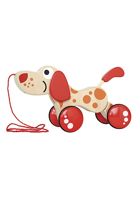 Wooden WalkALong Puppy Toy