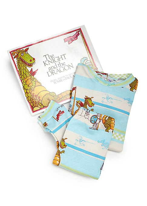 Little Boys  Boys The Knight and the Dragon Pajama and Book Set