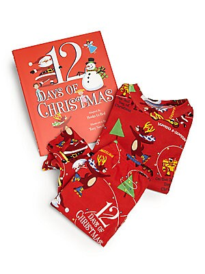 """Image of The """"Twelve Days of Christmas"""" is a poem that became a holiday tradition as early as the sixteenth century. Books to Ded has updated this wonderful classic with things that the twenty-first century kids would love to have for holidays. Enjoy counting down"""