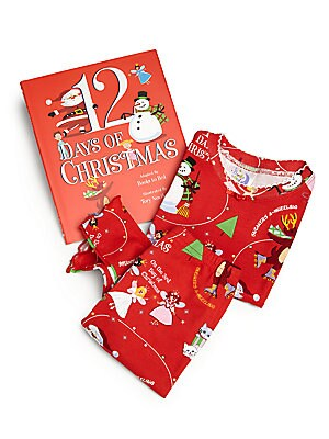 """Image of The """"Twelve days of Christmas"""" is a poem that became a holiday tradition as early as the sixteenth century. Books to bed has updated this wonderful classic with things that the twenty first century kids would love to have for holidays. Enjoy counting down"""