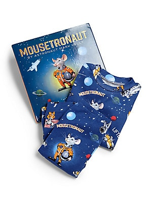 Image of Astronaut Mark Kelly flew with mice-tronauts on his first spaceflight aboard space shuttle Endeavour in 2001. This delightful book tells the story of a small mouse that wants nothing more than to travel to outer space. The little mouse works as hard as th