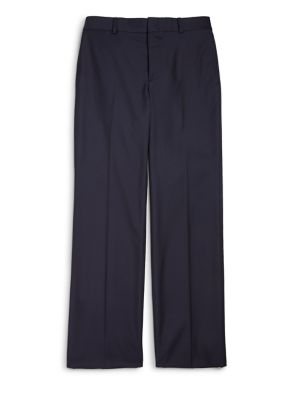 Boys Wool Twill Suit Pants