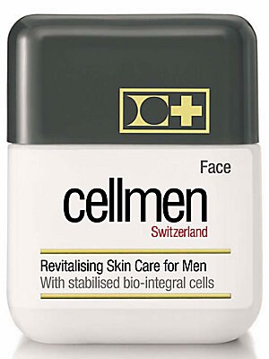 Image of ONLY AT SAKS. Unique cellular skin care treatment exclusively formulated for men's skin with active stabilized bio-integral cells. Nourishing treatment is enriched with vitamins E and C to fight against free radicals. Boosts and optimizes cellular skin ac