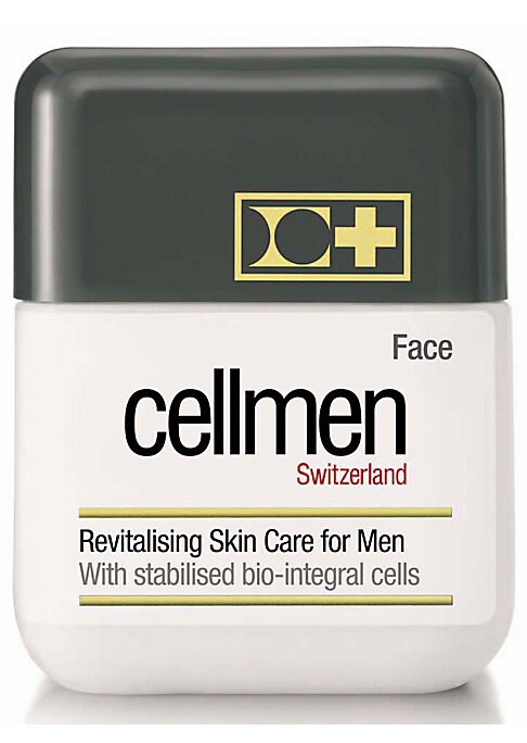 Image of EXCLUSIVELY AT SAKS FIFTH AVENUE. Unique cellular skin care treatment exclusively formulated for men's skin with active stabilized bio-integral cells. Nourishing treatment is enriched with vitamins E and C to fight against free radicals. Boosts and optimi