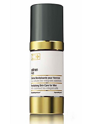Image of ONLY AT SAKS. Unique cellular skin care treatment exclusively formulated for men's skin with active stabilized bio-integral cells. Nourishing treatment is enriched with vitamins E and C to fight against free radicals. For all skin types and all ages. 1.05