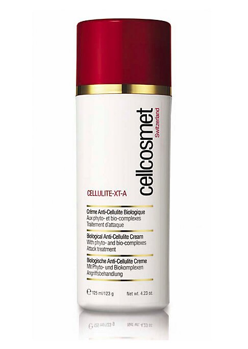 Image of EXCLUSIVELY AT SAKS FIFTH AVENUE. Anti-Cellulite. Cellcosmet Cellulite-XT-A Biological Anti-Cellulite Body Moisturizer. A revolutionary, attack cream process with phyto- and bio- complexes. Helps keep enzyme responsible for cellulite under control. Helps