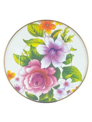 Flower Market SaladDessert Plate