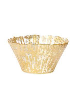 Vietri Ruffle Glass Bowl