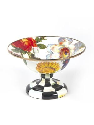 Flower Market Compote DishSmall