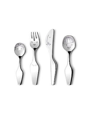 Georg Jensen The Twist Family Kids 4Piece Cutlery Set
