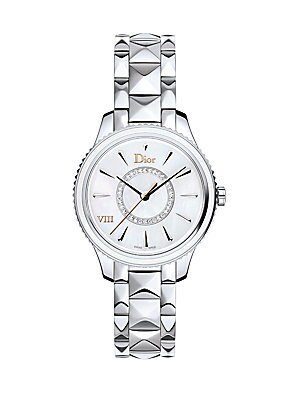 dior dior viii diamond white ceramic bracelet watch saks Five Dollar Watches dior dior viii montaigne diamond mother of pearl stainless steel bracelet