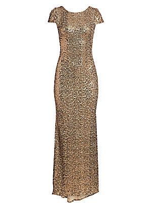 Badgley Mischka Lace Sleeve Sheath Cocktail Dress Sakscom