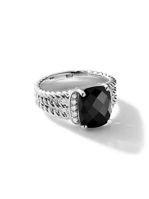 Wheaton Petite Ring with Diamonds