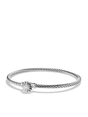 David Yurman Starburst Single Station Bracelet With Diamonds