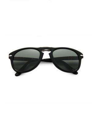 Persol Folding Keyhole Plastic Sunglasses