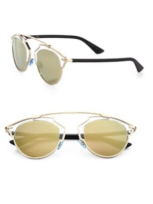 So Real 48 Mm Pantos Sunglasses by Dior