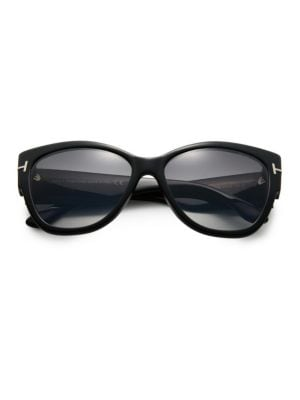e1d510c72c Linda Farrow - 856 C3 Cat Eye Sunglasses - saks.com