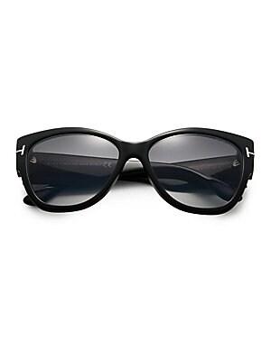 c99354b427b Tom Ford - Anoushka 57MM Cat Eye Sunglasses - saks.com