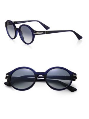 Persol Retro 50MM Round Sunglasses