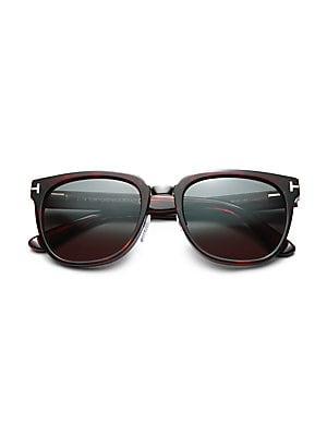 565b03f3cf5 Tom Ford - Rock 55MM Square Sunglasses - saks.com