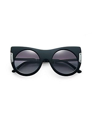 1614ab320f Stella McCartney - Iconic Flat Top Tortoise Shell Sunglasses - saks.com