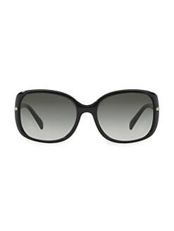 c6b6acb6369d Prada. Rectangular Plastic Sunglasses