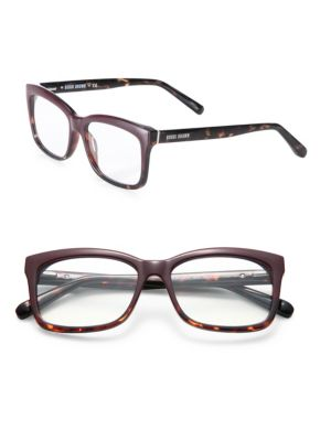 The Brooklyn 53Mm Reading Glasses - Burgundy Havana