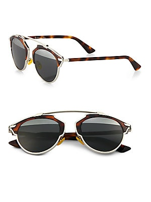 5510317317 Dior - Dior So Real Metal   Plastic Sunglasses - saks.com