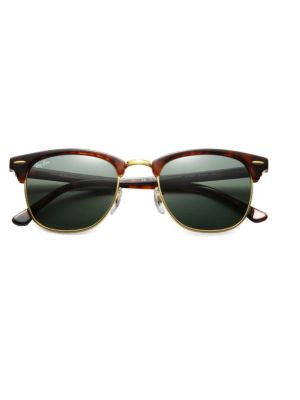 Ray Ban Ray-Ban Clubmaster Black Sunglasses - Rb3016 | ModeSens