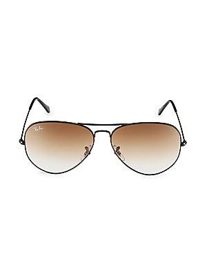 b5f1298cbf7ab Ray-Ban - 62MM Original Metal Aviator Sunglasses - saks.com