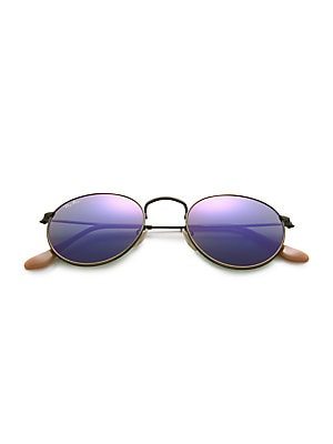 a02a19bb1e Ray-Ban - 50MM Legends Round Metal Sunglasses