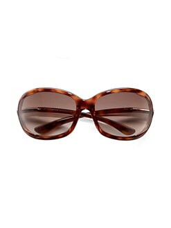 47a43238629 Tom Ford - Jennifer 61MM Oval Sunglasses Havana