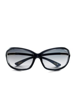 Jennifer 61mm Rectangular Sunglasses
