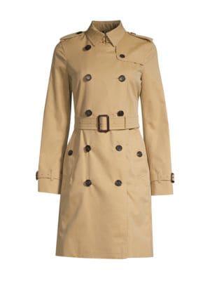Burberry Militarys Kensington Long Heritage Trench Coat