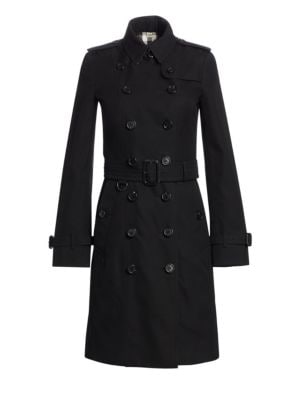 Sandringham Long Heritage Cotton Trench Coat plus size,  plus size fashion plus size appare