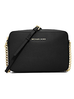 2785a137eb2e MICHAEL Michael Kors - Jet Set Large Textured Leather Crossbody Bag