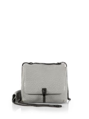 Elizabeth And James Cynnie Mini Bubble Leather Double Shoulder Bag