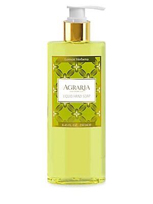 Image of Agraria Lemon Verbena Liquid Hand Soap/8.45 oz. For sale at Saks Fifth Avenue department store.