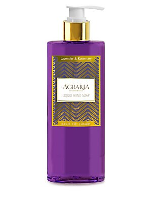 Image of Agraria Lavender & Rosemary Liquid Hand Soap/8.45 oz. For sale at Saks Fifth Avenue department store.